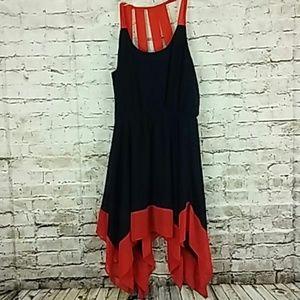 Sweet Storm Handkerchief Ladies Dress